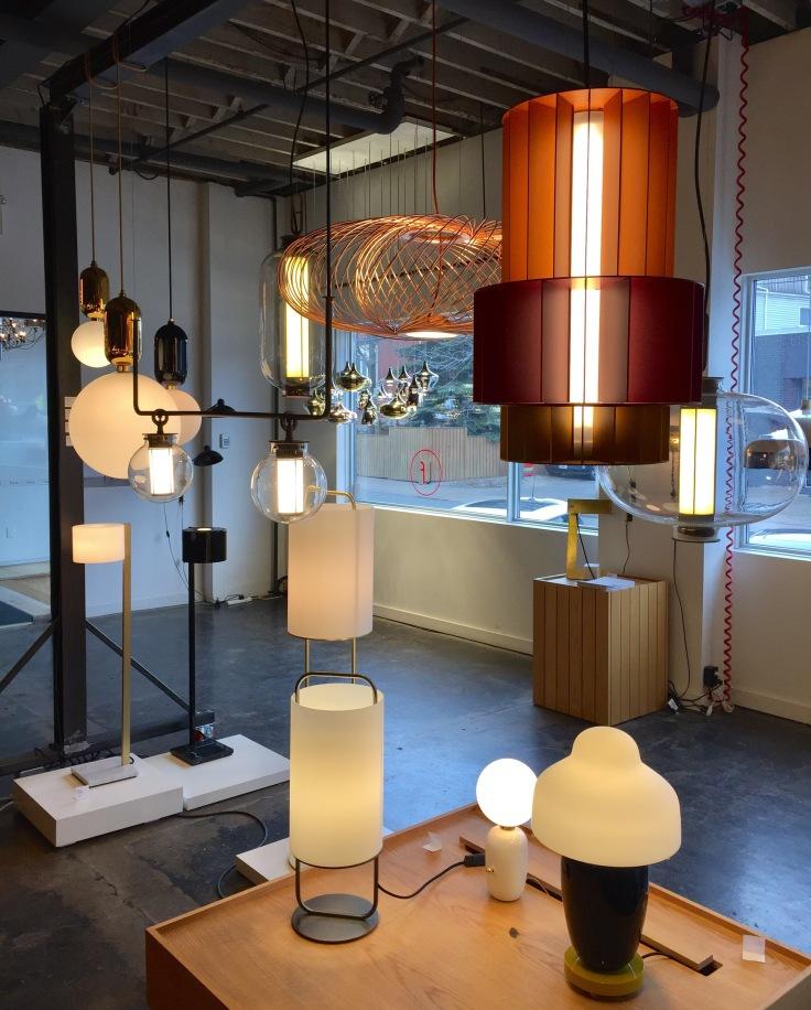 Parachilna lighting collection in LightForm Toronto