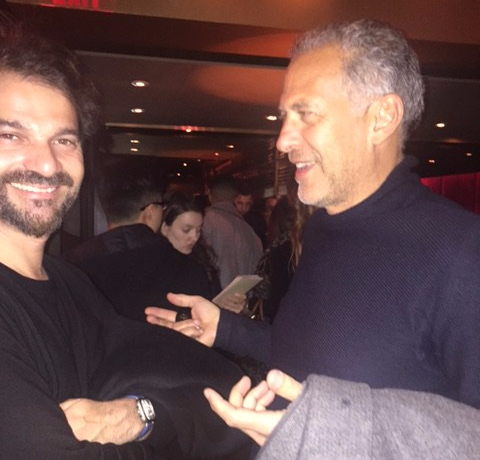 Jaime Hayon with Richard Assaly Parachilna in Toronto